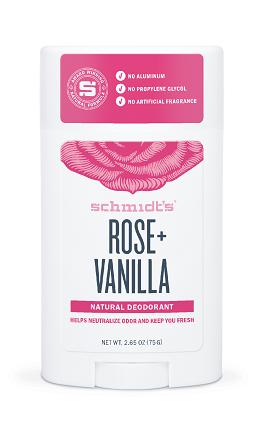Dezodorant w sztyfcie Róża i wanilia
