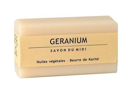 Mydło z masłem shea GERANIUM