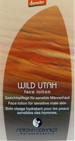 WILD UTAH Emulsja pielęgnacyjna do twarzy dla panów 2 ml